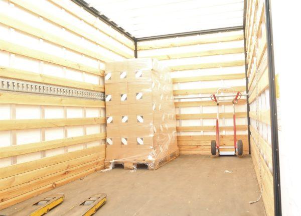 versturen vrachtwagen