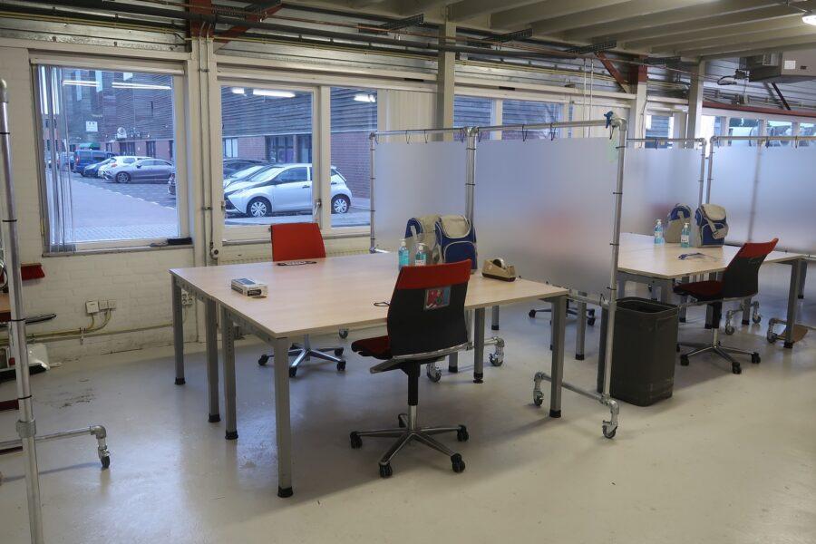 Onze Zaak corona proof werkplaats